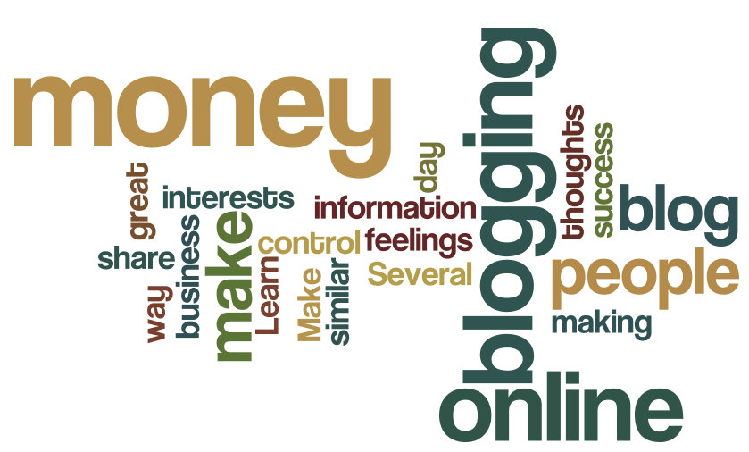 Money From Blogging online