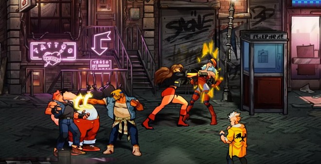 Street of Rage 4 announced