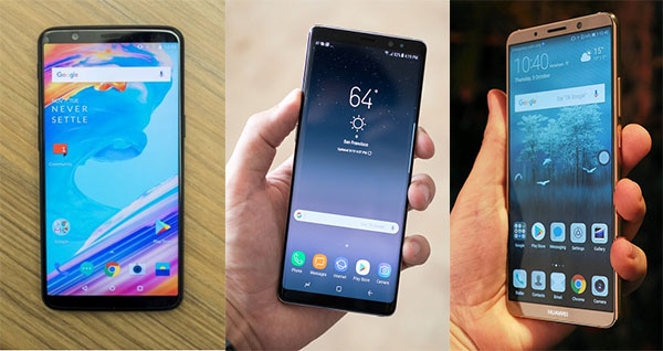 What OnePlus 5T worth against Galaxy Note 8 and Huawei Mate 10 Pro
