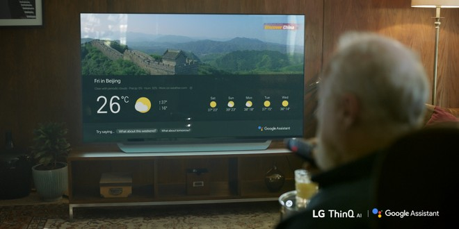 Google Assistant Supporting LG TV In More regions