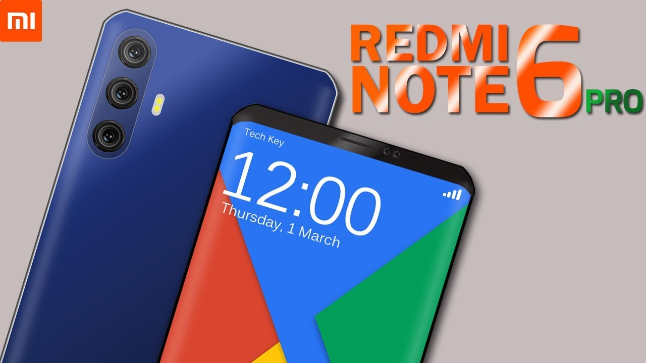 New Xiaomi Redmi Note 6 Pro With Two Memory models