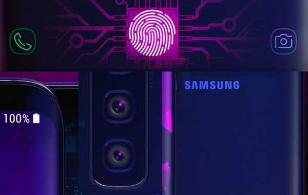 Samsung Galaxy S10 finally has the standard screen fingerprint